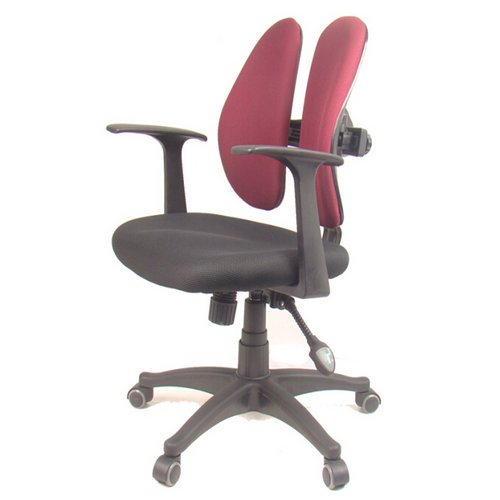 Merveilleux 6, Advanced Casters Polyurethane (PU) Material, To Absorb The Weight Of The  Dispersion, To Prevent Scratching The Floor Low Back Office Chair ...