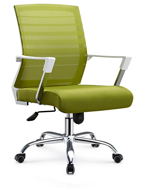 Commercial Office Furniture Made In China Mesh Design Visitor Meeting Room Chair With Casters